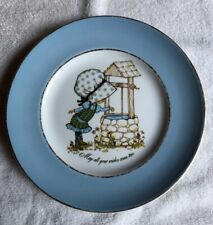 """Petticoats and Pantaloons Plate, """"May all Your Wishes Come True�! 9� In Diameter"""