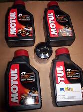 4 LT KI TAGLIANDO FILTRO OLIO MOTUL 7100 15W50 KTM ADVENTURE 950 SUPERMOTO SMT