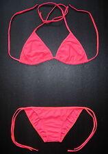 ORANGE BIKINI Nice 2 Piece Swimming Costume Ladies Swimwear Clothing Underwear