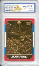 1986 MICHAEL JORDAN Fleer ROOKIE Card (Special Edition Gold)  Gem-Mint 10 *RARE*