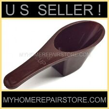 US SELLER ! - HANDY HELPERS 2 TBSP BROWN PLASTIC COFFEE MEASURING SCOOP - SPOON