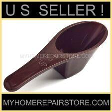 US SELLER ! - HANDY HELPERS 2 TBSP BROWN PLASTIC COFFEE MEASURING SCOOP - SPOON