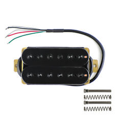 Black Color Guitar Humbucker Pickup Electric Guitar Pickup 52mm Bridge Pickup