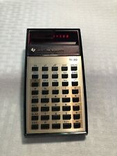 New ListingVintage Texas Instruments Electronic Slide-Rule Calculator Ti-30 Red Led