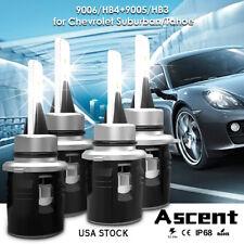 9005 HB3 9006 HB4 LED Headlight Kits Bulbs For Chevrolet Suburban/Tahoe 06-02 US