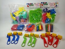 Kids Painting Supplies Brushes Rollers Foam Brushes Spatulas Open Box