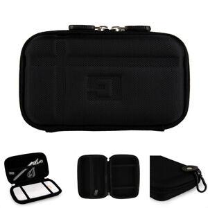 Compact Hard Shell Black Nylon Case For Garmin Nuvi 50LM / Nuvi 52LM / Nuvi 55LM