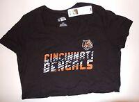 782b22895 NFL Women s Cincinnati Bengals White Large Antigua Spark Short ...
