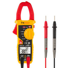 600V Digital Clamp Meter Multimeter AC/DC Volt Amps Ohm Current Tester