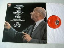 ASD 2746 BRAHMS Symphony No. 2/Alto Rhapsody Janet Baker Boult vinyl LP