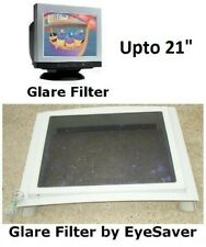 """CRT Screen Glare Filter, by EyeSaver, upto 21"""" screen, next to new"""