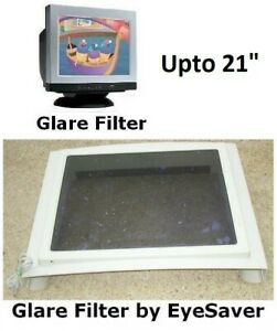 "CRT Screen Glare Filter, by EyeSaver, upto 21"" screen, next to new"