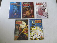 HAMMER OF THE GODS 5 ISSUE COMIC SET 1-5 COMPLETE INSIGHT