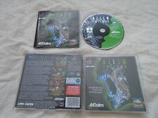 Alien Trilogy PS1 (COMPLETE) Sony PlayStation rare shooter FPS black label