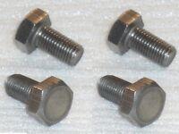 "4x 5/16 BSCy x5/8"" 26TPI Stainless Hex Setscrews Cycle Thread Bolts TRIUMPH BSA"