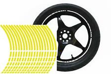 NEW wheel rim tape striping stripes stickers YELLOW..(36 pieces/8 per wheel)