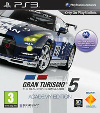 Gran Turismo 5: Academy Edition ~ PS3 (in Great Condition)