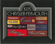 1975 Chrysler-Plymouth Brochure Fury/Duster/Road Runner