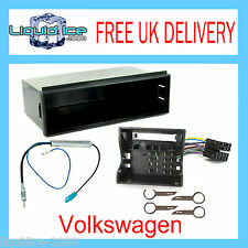 WV  VOLKSWAGEN POLO 2003 to 2008 SINGLE DIN POCKET FASCIA FACIA FITTING KIT