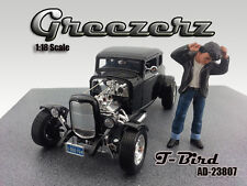 GREEZERZ T-BIRD FIGURE FOR 1:18 SCALE DIECAST MODELS BY AMERICAN DIORAMA 23807