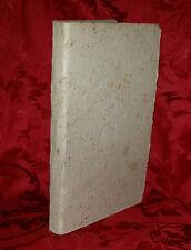Libro Antico 1817 Lamento di Cecco da Varlungo Francesco Baldovini