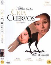 CRIA CUERVOS (1976, Carlos Saura) DVD NEW