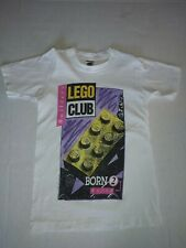 Vintage 1992 Lego Club Born 2 Build T-Shirt Youth Shirt 10-12 Made in Usa