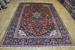 Fine Handmade Persian Wool Carpet Floral Design 295 x 190 cm Hand Knotted Carpet