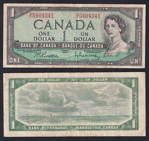Canada 1 dollar 1954 BB/VF  A-07