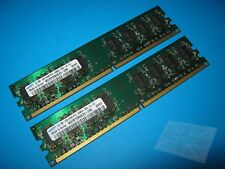 Samsung 2GB (2x1GB) M378T2953EZ3-CE6 PC2-5300U DDR2 Desktop Memory