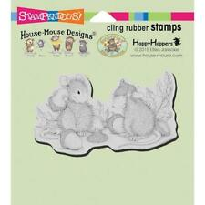 Stampendous House Mouse Cling Stamp - Acorn Cap HMCM22