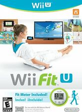 Game Pad Fit Meter Fitness Balance Board Accessories Nintendo Wii Fit GAME ONLY