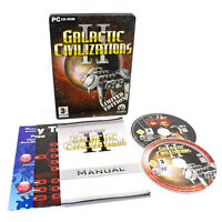 Galactic Civilizations II Limited Edition for PC CD-ROM by Stardock, 2006