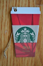 """Canada Series Starbucks """"RED CUP 2014"""" Gift Card - New No Value"""