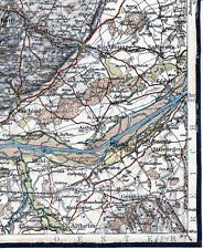 Rotthalmünster Malching Eggelfing 1913 orig. Teilkarte/Ln. Altheim Füssing Aigen