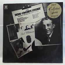 THE BING CROSBY STORY - vintage vinyl LP - Vol 1 Jazz Years 1928-1932 Dbl Album