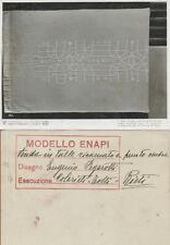 FUTURISMO V TRIENNALE DI MILANO 1933 FOTO CRIMELLA ARTE DECO' FEGAROTTI RIETI