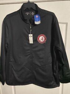 NWT Antigua Golf 3XL XXXL NCAA Alabama Crimson Tide Zip Up Jacket