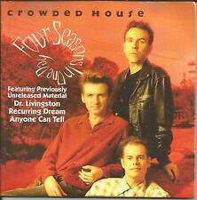 CROWDED HOUSE Four Seasons w/ 3 UNRELEASED TRX Europe CD single USA Seller 1992
