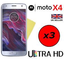 3x Hq Ultra Clear HD Protecteur d'écran Cover Guards Pour MOTOROLA MOTO X4