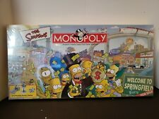 The Simpsons MONOPOLY®  8+ 2-6 players 60+ minutes NEW