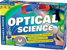 Thames and Kosmos 665005 Optical Science 2012 Edition Experiment Kit