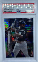 🚨Luis Robert 2020 MLB Topps Chrome Prism Refractor RC PSA 10 White Sox!📈