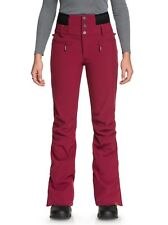 Roxy Rising High Snow Pants - Women's - X-Small, Beet Red (RRV0)