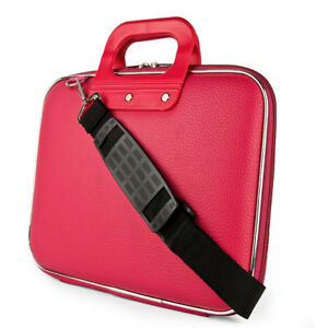 """SumacLife Leather Tablet Shoulder Bag Case For 12.3"""" Microsoft Surface Pro 7 / 6"""