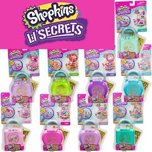 Shopkins Lil' Secrets Secret Lock Playsets 9 Types To Collect Shoppie Shopville