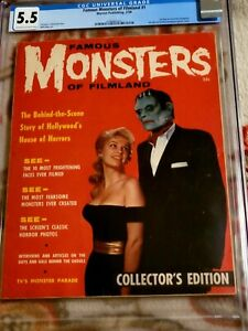 Famous Monsters of Filmland Issue #1!! ****CGC 5.5!!****