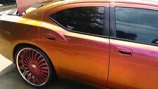 Red Orange Purple Chameleon Colour Shift Pigment Custom Paint Airbrush Car 25g