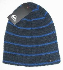 MENS QUIKSILVER BLUE BEANIE HAT ONE SIZE