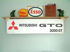 MITSUBISHI GTO 3000GT-WORKSHOP GARAGE BANNER SIGN